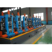 Quality Straight Seam Mild Steel Small Pipe Making Machine ERW High Frequency for sale
