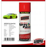 Quality High Gloss Car Paint Aerosol Cans / Scratch Resistant Quick Dry Spray Paint for sale