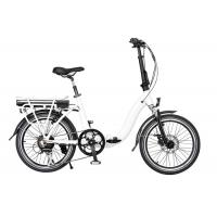 Buy cheap Waterproof 250W Foldable High Performance Adult Electric Bike On Rear Rack from wholesalers