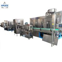 Quality Industrial Water Bottling Equipment / Mineral Water Machine 24 Filling Head for sale