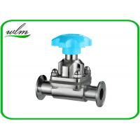 Quality Hygienic Sanitary Diaphragm Valve , SS Diaphragm Valve For Pharmaceutical Industry for sale