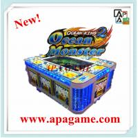 Quality 8P Ocean Monster IGS video fishing hunter shooting amusement game machine with bill acceptor for sale