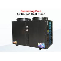 Quality Swimming Pool Commercial Air Source Heat Pump Shell Heat Exchanger Long Life Span for sale