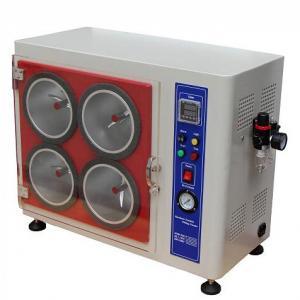 Quality DIN 53867 ASTM D3512 Textile Fabrics Random Tumble Pilling Resistance Tester for sale