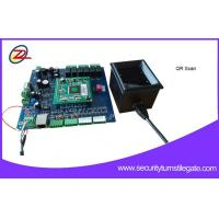 Quality 50W Power Ticket Reader Barcode Access Control System for Amusement Park for sale