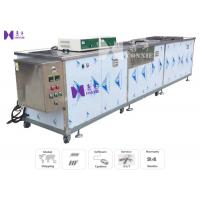 Quality Tableware Semi - Auto Ultrasonic Cleaning Equipment 600W 12Pcs Transducer CE Certificated for sale