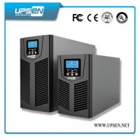 Quality 24VDC to 220VAC Uninterrupted Power Supply , Solar Online UPS Power with PV Input for sale