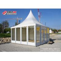 Quality Flame Retardant Pagoda Party Tent 3X3M With Anti - Rust Surface Multi Functional for sale