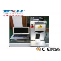 China Portable Fiber Laser Marking Machine For Various Logo / Character Marking on sale