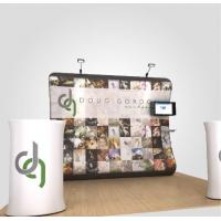 Quality Anti UV Tension Fabric Display System Retractable Trade Show Displays for sale