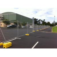 Quality AS/NZS standard OD 40mm tube temporary construction fence panels 2.1m height fully hot dipped galvanized for sale