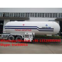 Quality HOT SALE! lower price with higher quality 2018s new designed 20MT bulk propan gas tank semitrailer, lpg gas tank trailer for sale