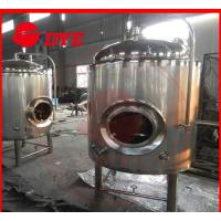 Quality 500 L Insulated Jacket Cooling Tank Or Beer Fermentation Tank for sale