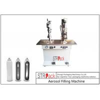 Quality Electronic Control Aerosol Filling Machine , Bag On Valve Filling Machine for sale