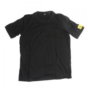 Quality CE SGS 80 Times Washing Black ESD Polo Shirts for sale