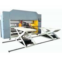 China Semi - Auto Double Piece Stitching Machinery For Corrugated Carton Box Making on sale