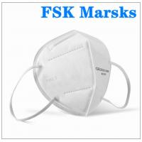 Quality Foldable Earloop KN95 Face Mask 5 Layer Against Non Oily Suspended Particles for sale