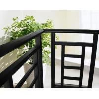Buy Aluminum Stair Railing For Stairs , Powder Coating / Anodizing Aluminium Exterior Hand Railings at wholesale prices