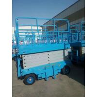 Quality High Safety Hydraulic AC DC Mobile Scissor Lift With Load Capacity 500kg for sale
