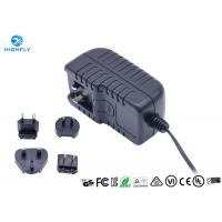 Quality 18V 1A Interchangeable Plug Power Adapter Power Supply With UL CE GS Certifications for sale