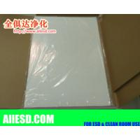 Quality Entrance disposable peelable cleanroom sticky mat/adhesive mat/tacky mat for sale