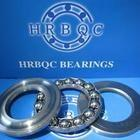 Quality 17 - 80 mm Single Row Carbon Steel Thrust Ball Bearing 511 series 51103 - 51110, 51111 for sale