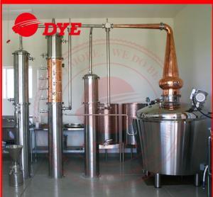 Quality Semi-Automatic Steam Home Alcohol Distiller Equipment 200L - 5000L for sale