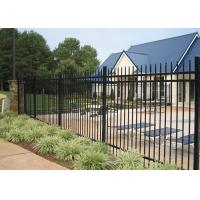 Quality Professional Square Tubular Picket Fence For Automatic Security Gates for sale