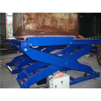 Quality 3.0 ton Hydraulic Motorcycle Lift , Electric Scissor Lift  Customizable for sale