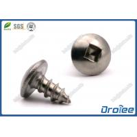 Quality Martensitic 410 Stainless Steel Square Drive Truss Head Sheet Metal Screws for sale