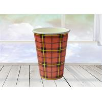 China Beverage Drinking Kraft Paper Cups With Custom LOGO Printing on sale