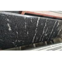 Quality Different Color Control Natural Stone Slabs Black Granite With White Vein Material for sale