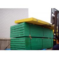 China Green Plastic Grate Covers, 1220 X 3660 Fibreglass Reinforced Plastic Grating on sale