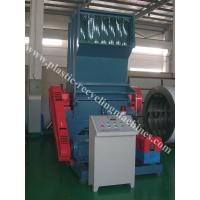 China PP PE Film Waste Recycling Plastic Crusher , PET Bottle PVC Pipe Shredder for sale