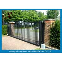 Quality Rot Proof Electric Sliding Gates For Driveways Galvanized / PVc Coated Surface Treatment for sale