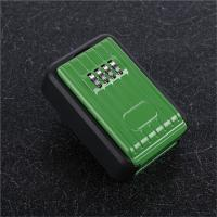 China Outdoor Combination Lock Box Wall Mounted Door Key Locker With 4 Digit on sale