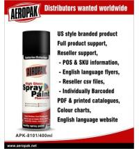 Quality Yellow Automotive Aerosol Spray Paints / Auto Aerosol Spray Paint For Ceramic for sale
