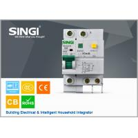 Quality Singi Residual - current mini electrical circuit breaker 1P  2P 3P 4P for sale