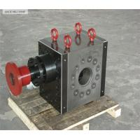Quality polymer melt gear pump for extrusion for sale