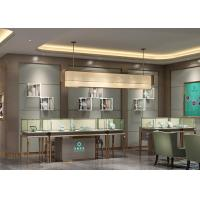 Buy Luxury Modern Jewelry Shop Display Cabinets / Jewellery Showroom Furniture at wholesale prices