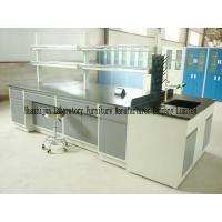 China Under Storage Type Medical Laboratory Furniture Integral Forming 1.0mm Steel Sheet on sale