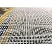 Quality 100% Polyester Industry Conveyor Mesh Belt High Temperature Resistant for sale