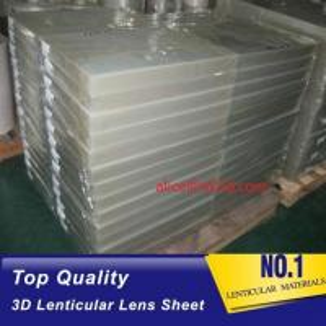 Quality 3D Lens high density polyurethane foam sheets 25 lpi 4mm thickness lenticular for uv flatbed printer and inkjet print for sale