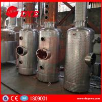 Quality Beautiful Design Copper Distiller Gin Distillery Machine With Gin Baskey for sale