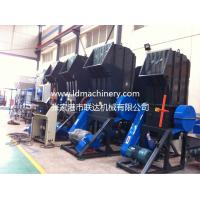 Waste Plastic Recycling Line Pet Bottle Crusher Machine Soundproof for sale