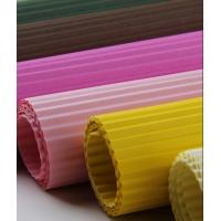 Quality excellent quality colorful corrugated paper for sale
