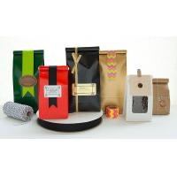 Quality Moistrue - Proof Coffee Packaging Bags Easy Tear Notch Various Shapes for sale