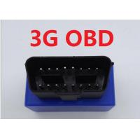 Quality Vehicles / Car 3G GPS Tracker OBD With Rechargeable 3.7V 350mAh Li-ion Battery for sale