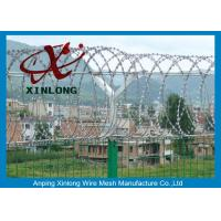 Quality Airport Razor Barbed Wire For Security Fence OEM / ODM Available for sale