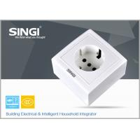 Quality OEM Electrial white Wall Switch Socket 250V ,10A with CE approved for sale